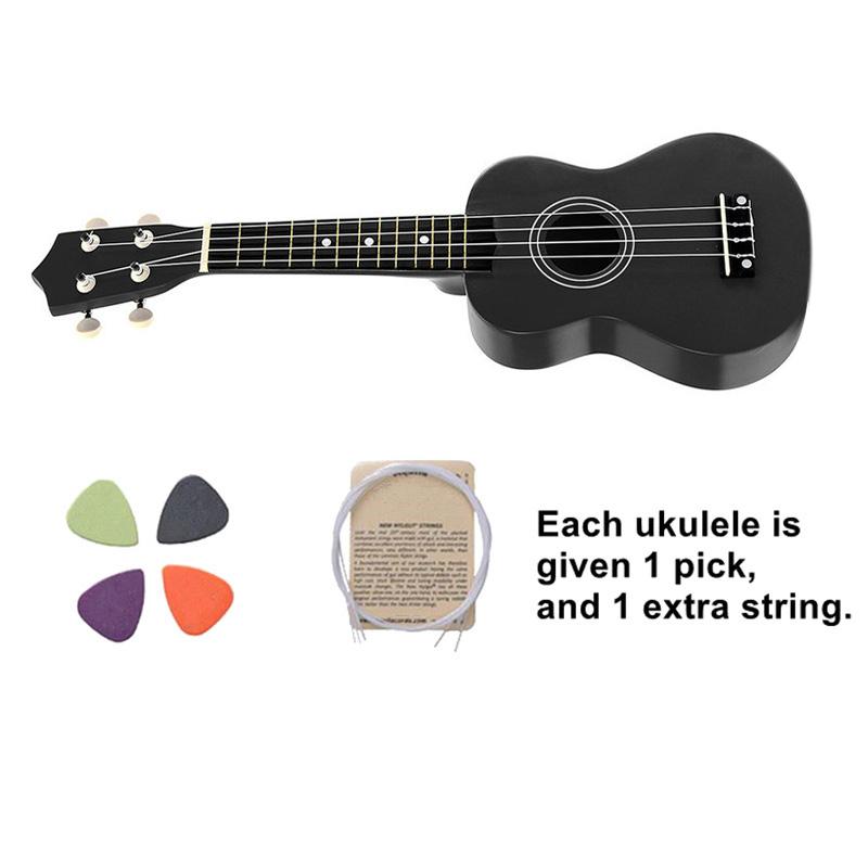 21-pollici-Soprano-Ukulele-4-stringhe-hawaiano-Chitarra-Uke-Stringa-Sce-O4R2 miniatura 24
