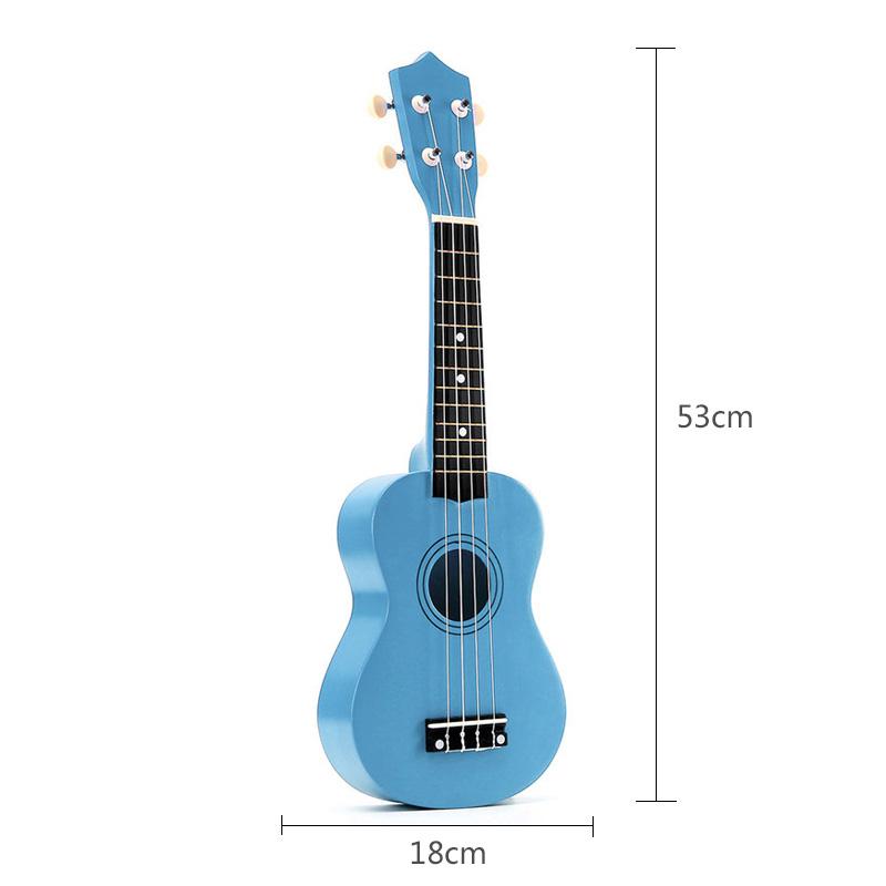 21-pollici-Soprano-Ukulele-4-stringhe-hawaiano-Chitarra-Uke-Stringa-Sce-O4R2 miniatura 31
