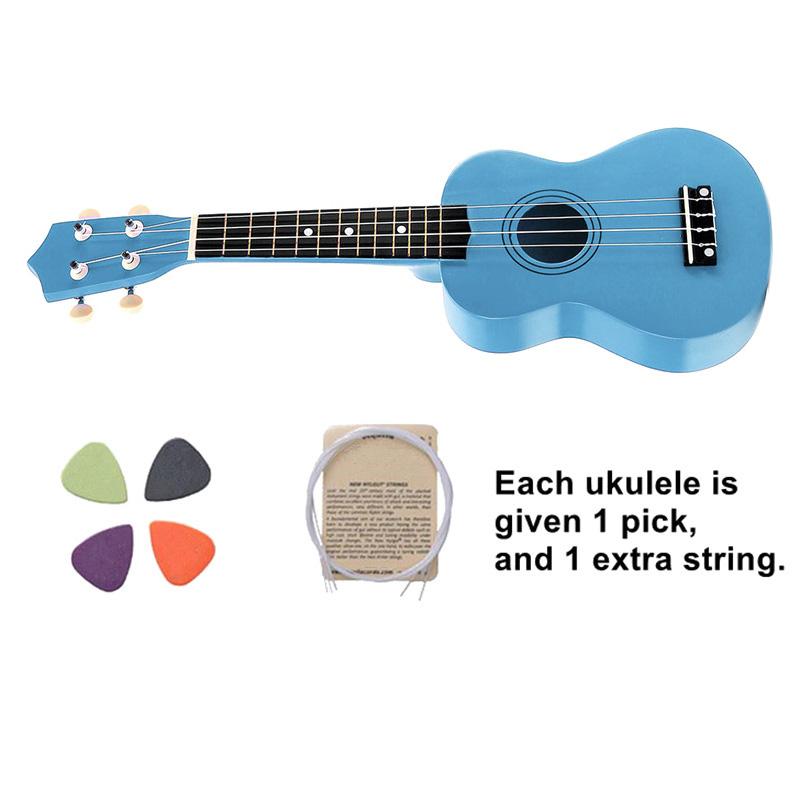 21-pollici-Soprano-Ukulele-4-stringhe-hawaiano-Chitarra-Uke-Stringa-Sce-O4R2 miniatura 32