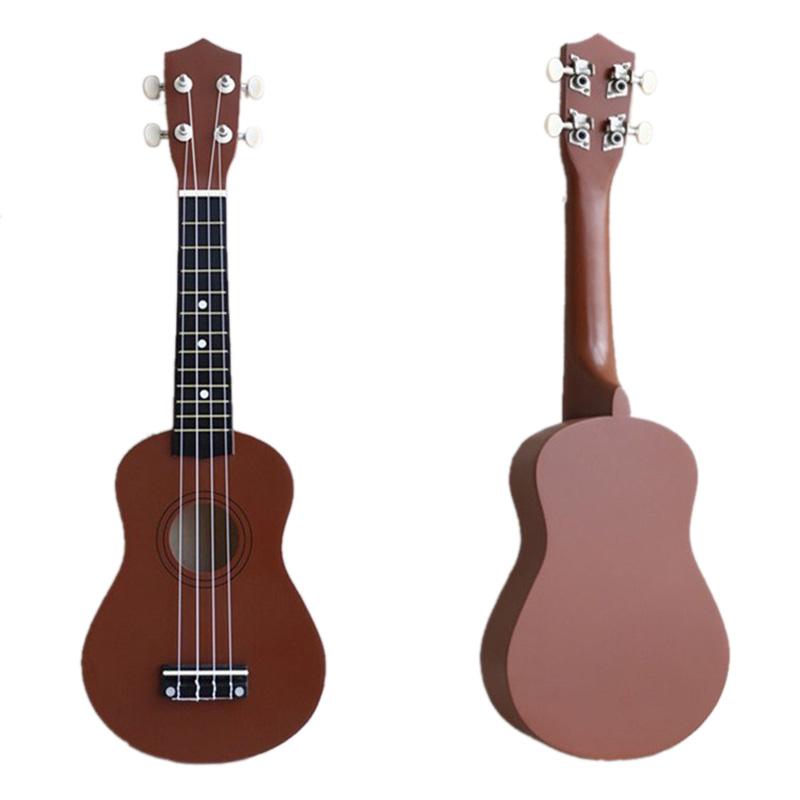 21-inch-Soprano-Ukulele-4-Strings-Hawaiian-Guitar-Uke-String-Pick-For-Begi-B4F2 thumbnail 13