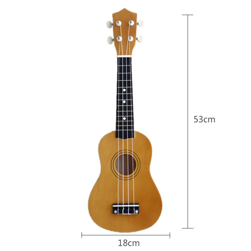 21-pollici-Soprano-Ukulele-4-stringhe-hawaiano-Chitarra-Uke-Stringa-Sce-O4R2 miniatura 39