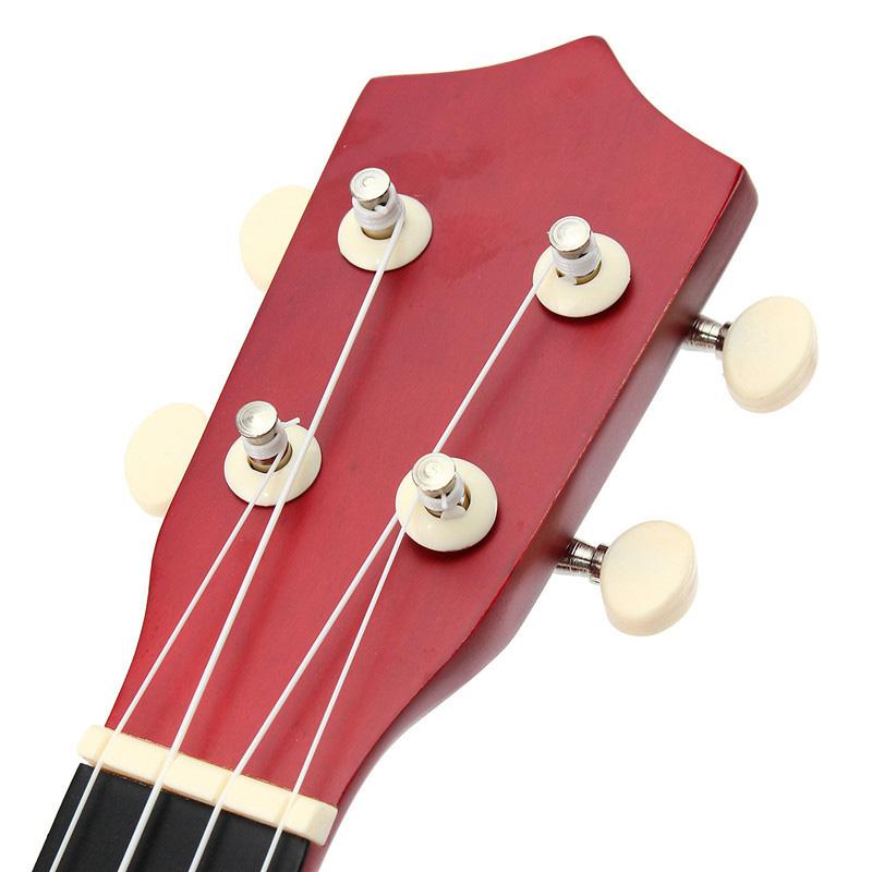 21-inch-Soprano-Ukulele-4-Strings-Hawaiian-Guitar-Uke-String-Pick-For-Begi-B4F2 thumbnail 25