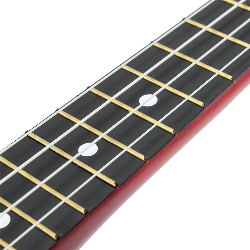 21-inch-Soprano-Ukulele-4-Strings-Hawaiian-Guitar-Uke-String-Pick-For-Begi-B4F2 thumbnail 26