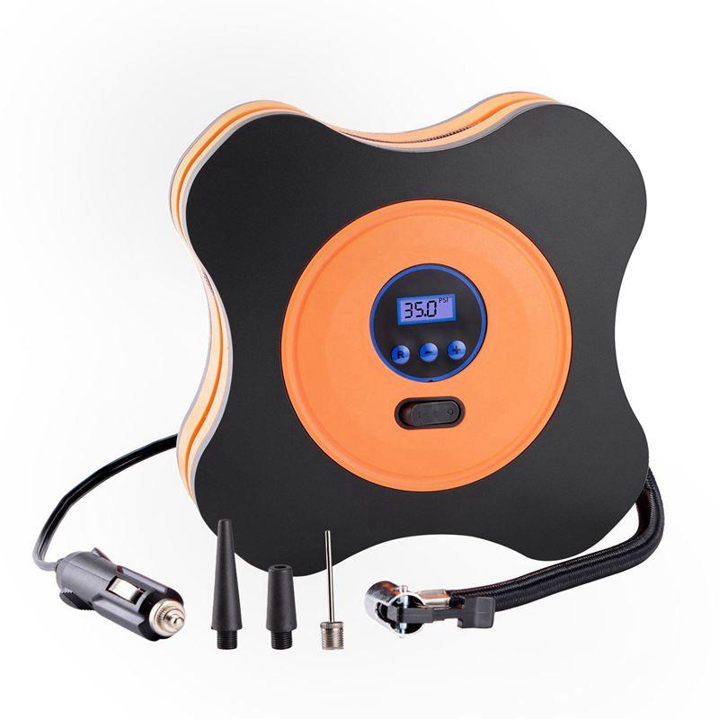9x portatili GONFIAGOMME Auto compressore d'aria pompa 12v DC auto Digital 150psi UC c8