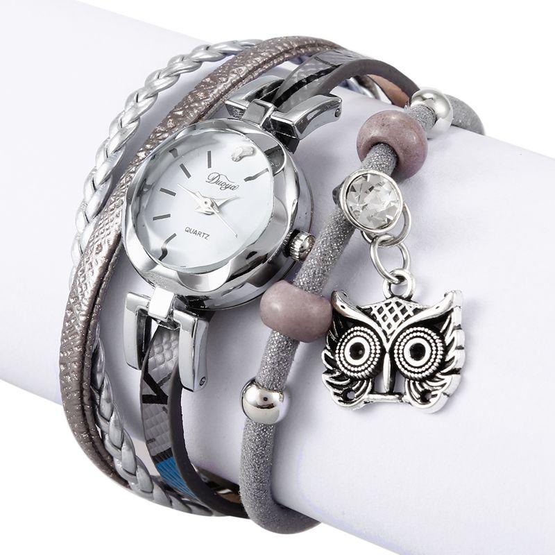 9961b20ef957 3X(Duoya Marca Reloj de pulsera de moda para mujer Reloj de pulsera ...