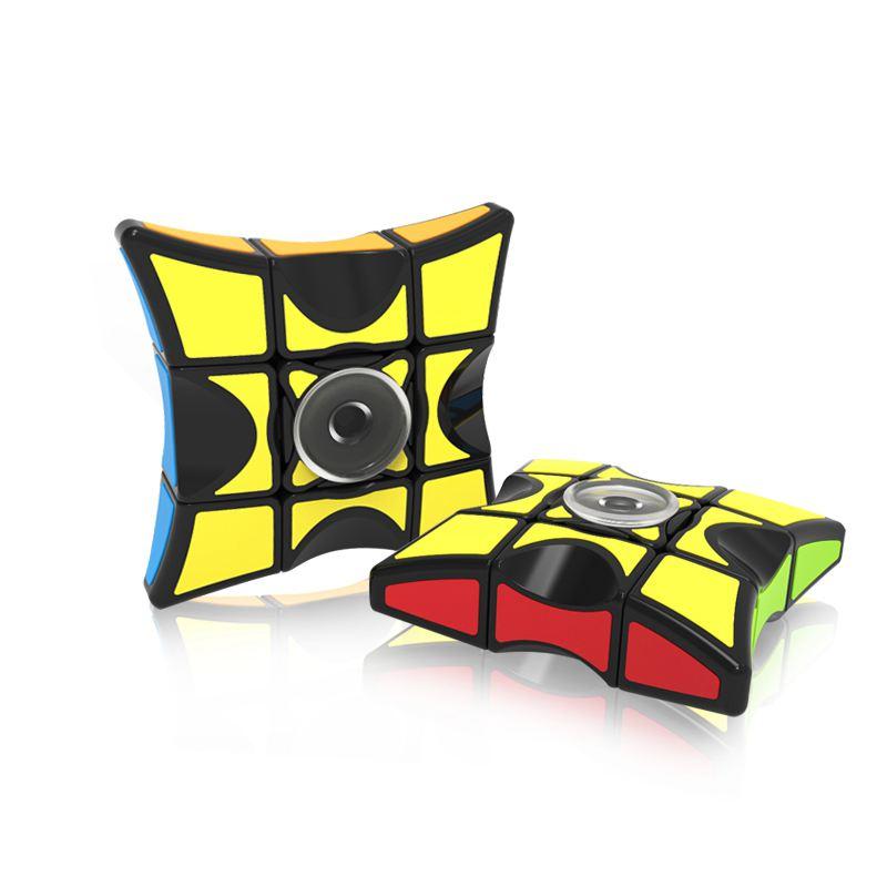 10X(Fully-Functional 1x3x3 Magic Cube & Fidget Spinner Finger Hand Spinner P2Z9)
