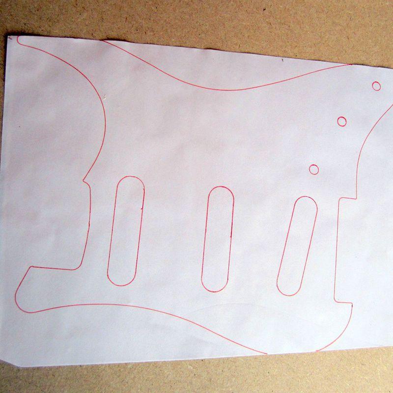 Multi-usages-20-x-30-cm-Auto-adhesif-Guitare-Blindage-en-cuivre-Ruban-adhes-E1L5 miniature 9