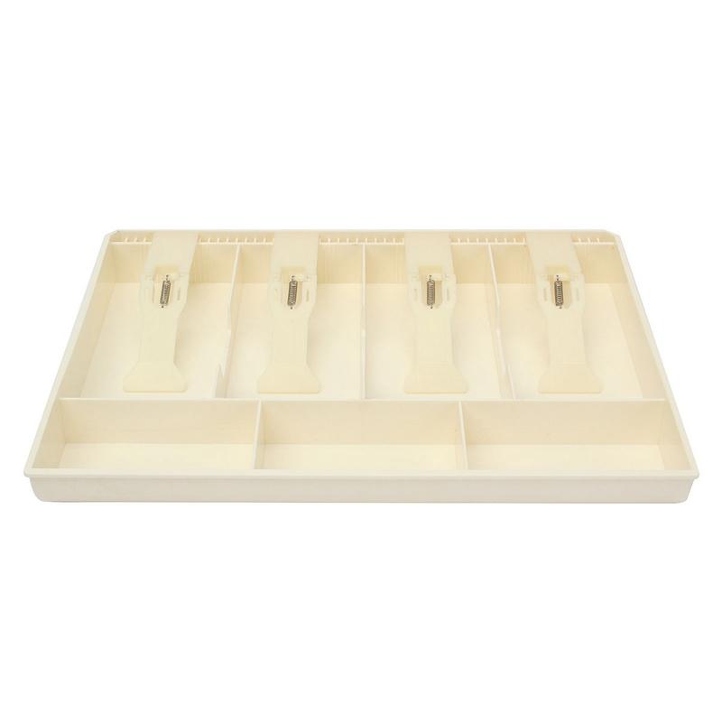El-dinero-de-caja-del-cajon-dispensador-de-efectivo-de-la-caja-registradora-I8K4 miniatura 6