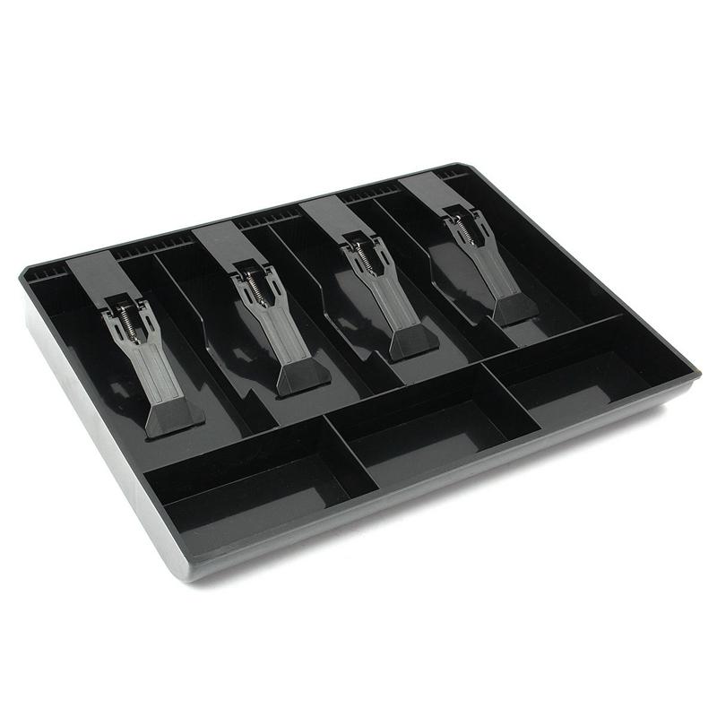 El-dinero-de-caja-del-cajon-dispensador-de-efectivo-de-la-caja-registradora-I8K4