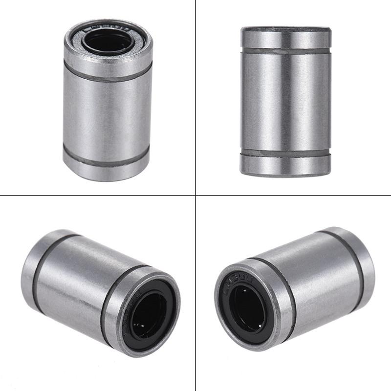 2X(Ball Bushing Linear Motion 8mm x 15mm x 24mm Double Sealed 10 Pcs Q8H5) P1 3