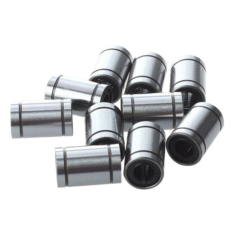 2X(Ball Bushing Linear Motion 8mm x 15mm x 24mm Double Sealed 10 Pcs Q8H5) P1