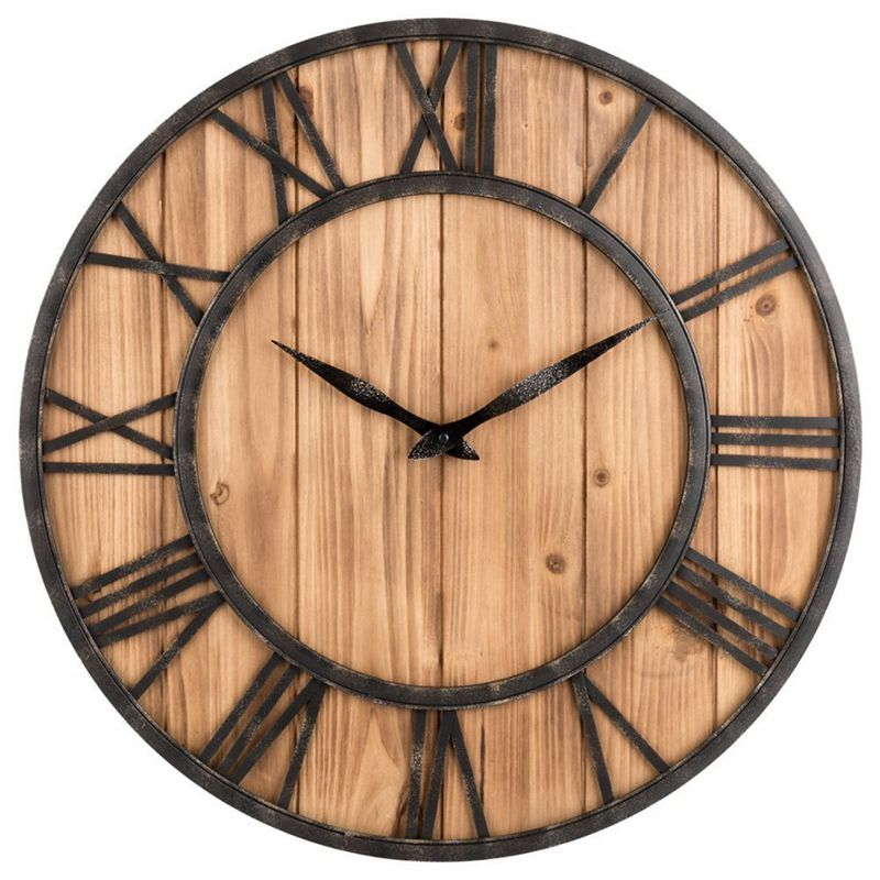 horloge murale horloge murale creative silencieuse ronde. Black Bedroom Furniture Sets. Home Design Ideas