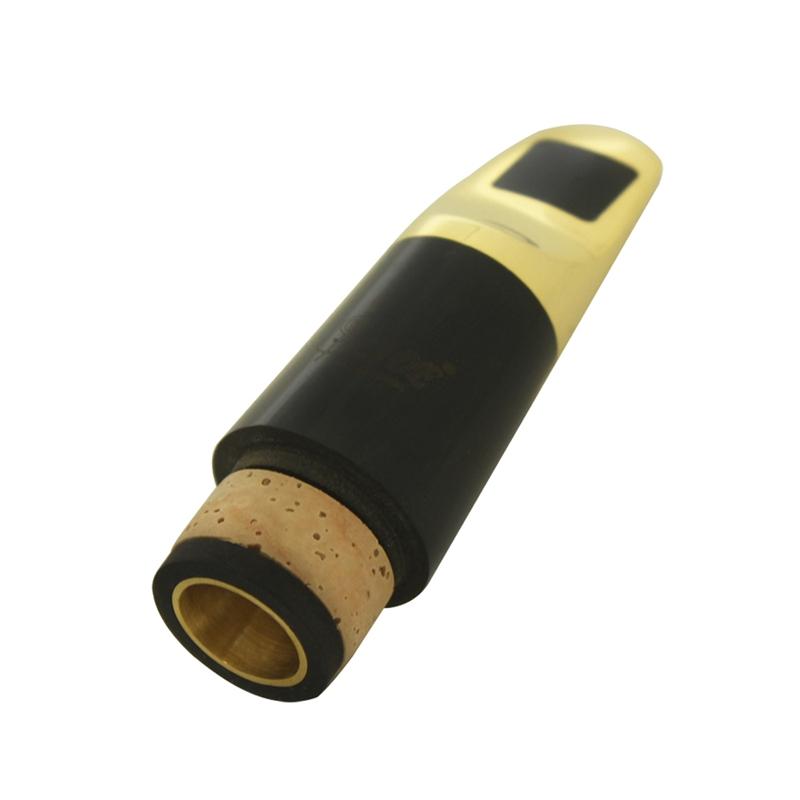 Clarinete Clarinete Clarinete de metal, Boquilla para clarinete flauta Silbato de cabeza de Tubo 7 C para Saxo Dorado R3Z6 70b2be