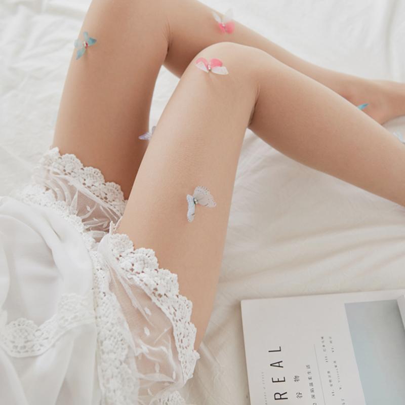 Collants-Lolita-Bas-pour-femme-Collants-de-fille-Conception-mignonne-Tatouage-SC