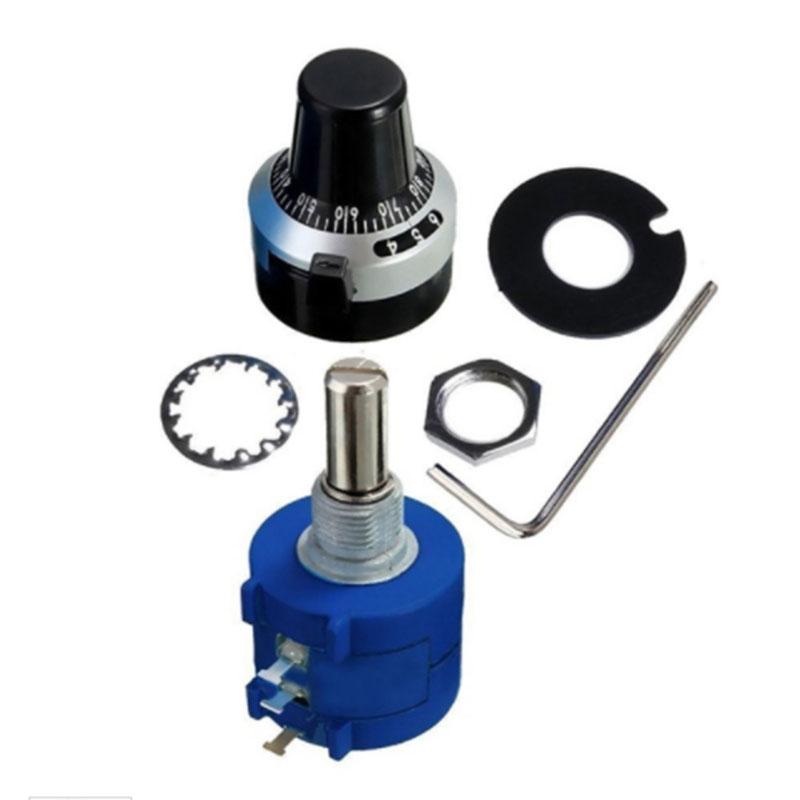 80 Stk zufaellige Farbe 6mm Drehknopf Knopf Potentiometer O4T0
