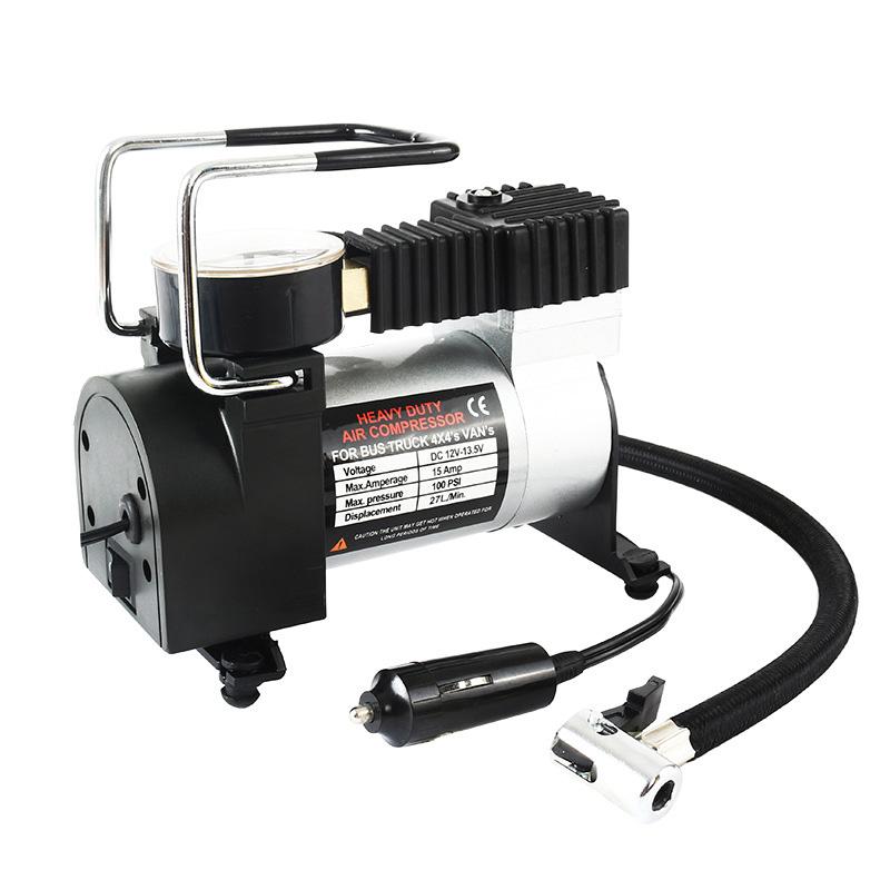 3x (12v Portable Auto Electric Inflator Pump Air Compressor 80psi Electr f9y7