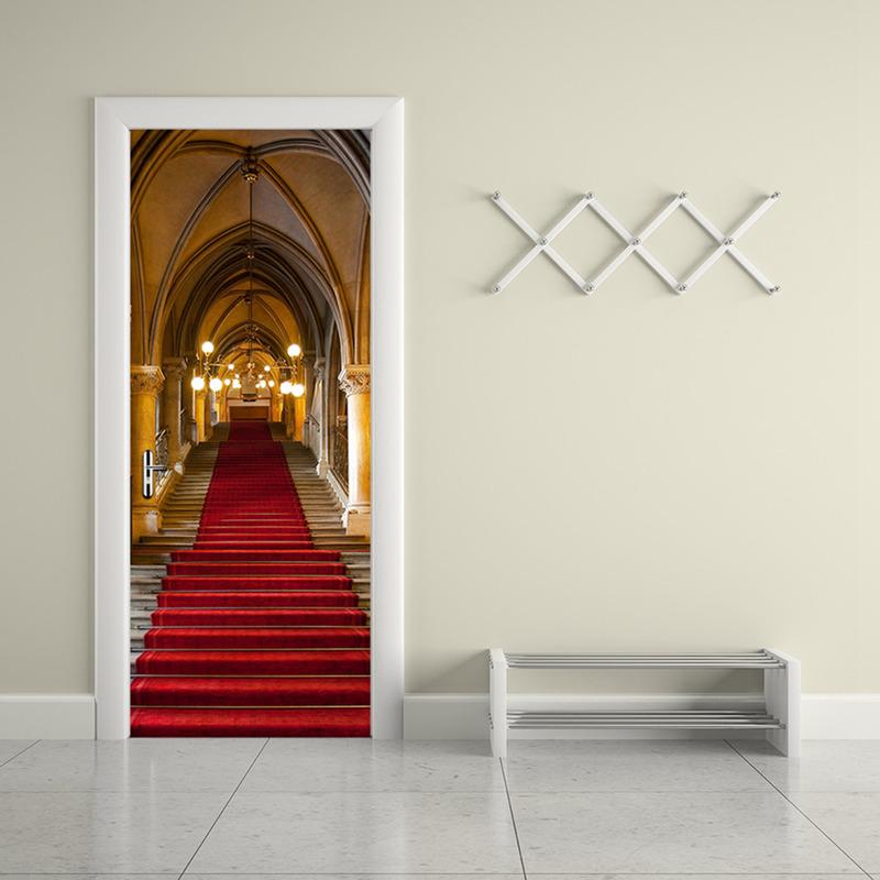 Home Decorat: 3D Door Wall Fridge Sticker Decals Self Adhesive Mural