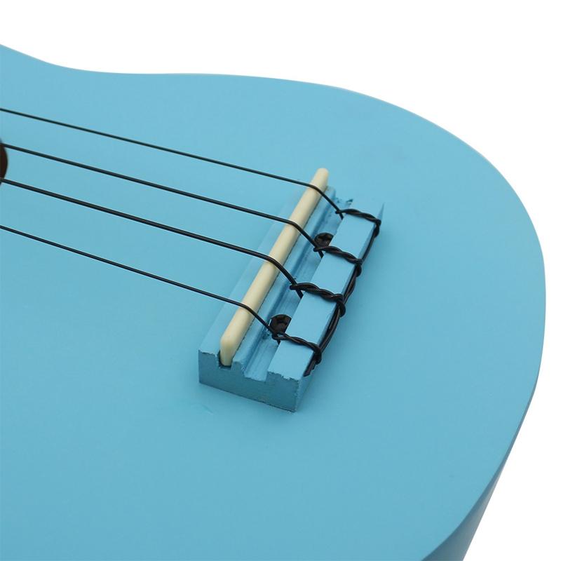 IRIN-Ukulele-21-pollici-chitarra-4-corde-Hawaii-chitarra-acustica-strumento-P5K3 miniatura 9
