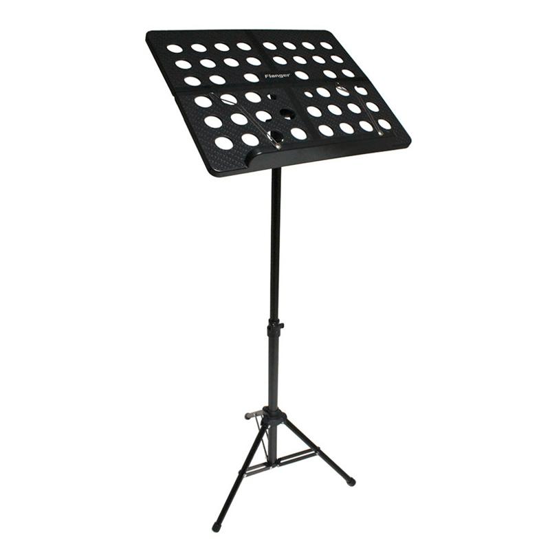 Flanger-Sostenedor-Soporte-Tripode-de-partitura-de-musica-plegable-Aleacion-de-a miniatura 3