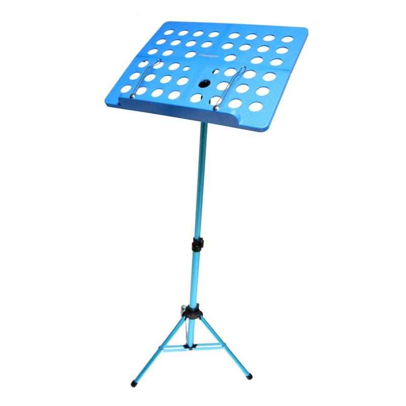 Flanger-Sostenedor-Soporte-Tripode-de-partitura-de-musica-plegable-Aleacion-de-a miniatura 5