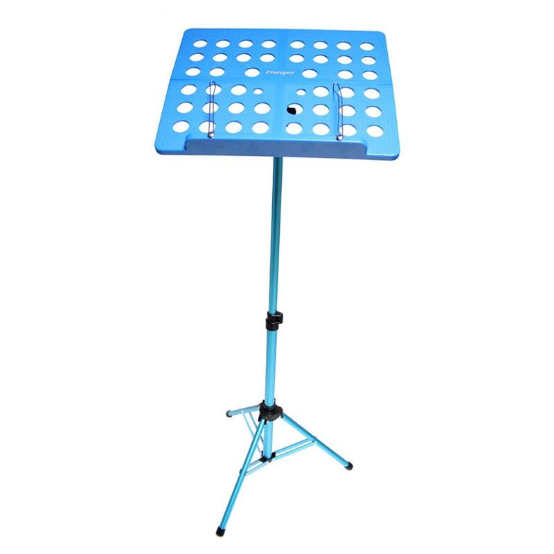 Flanger-Sostenedor-Soporte-Tripode-de-partitura-de-musica-plegable-Aleacion-de-a miniatura 6