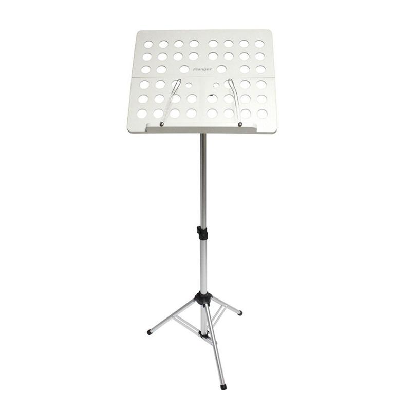 Flanger-Sostenedor-Soporte-Tripode-de-partitura-de-musica-plegable-Aleacion-de-a miniatura 8