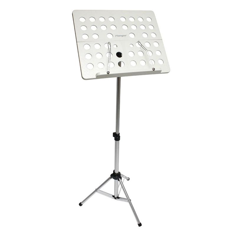 Flanger-Sostenedor-Soporte-Tripode-de-partitura-de-musica-plegable-Aleacion-de-a miniatura 9