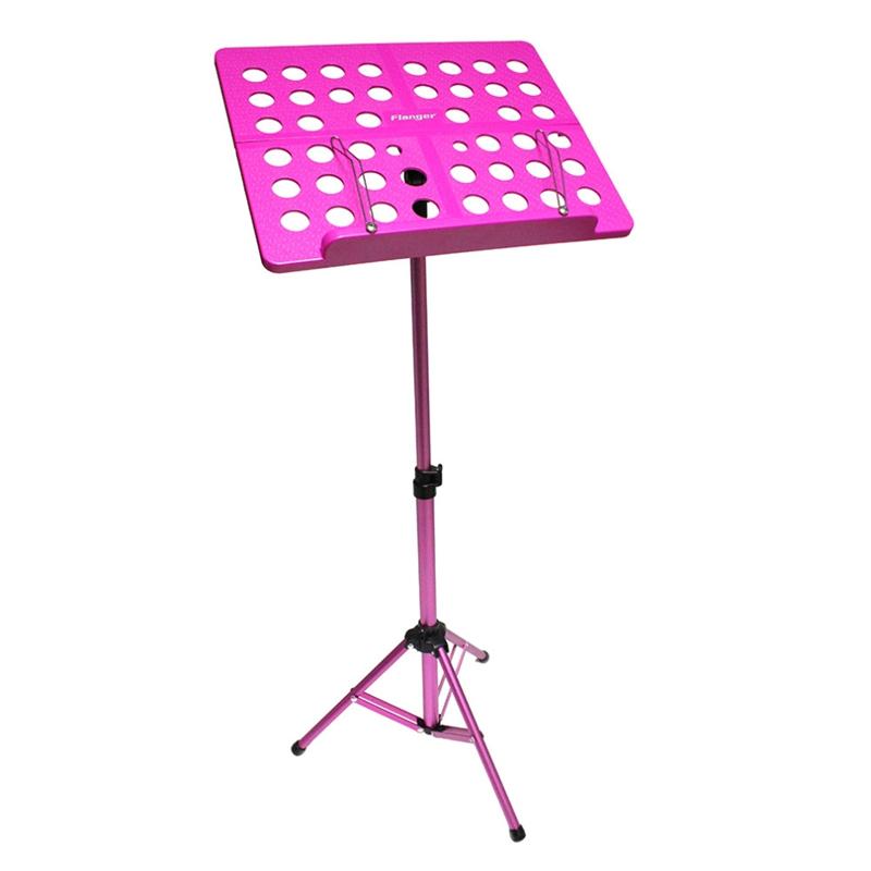 Flanger-Sostenedor-Soporte-Tripode-de-partitura-de-musica-plegable-Aleacion-de-a miniatura 11