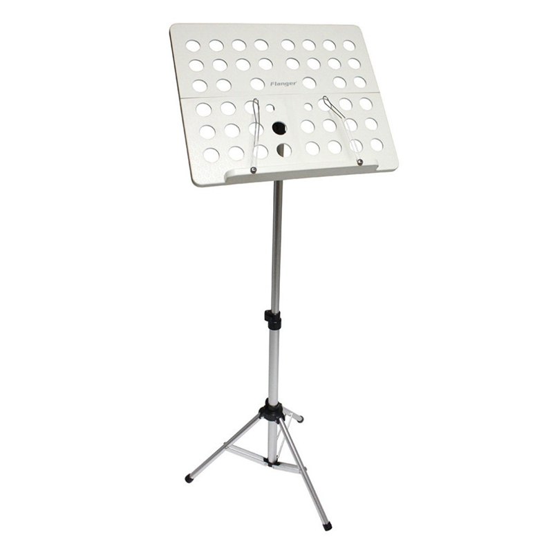 Flanger-Sostenedor-Soporte-Tripode-de-partitura-de-musica-plegable-Aleacion-de-a miniatura 13