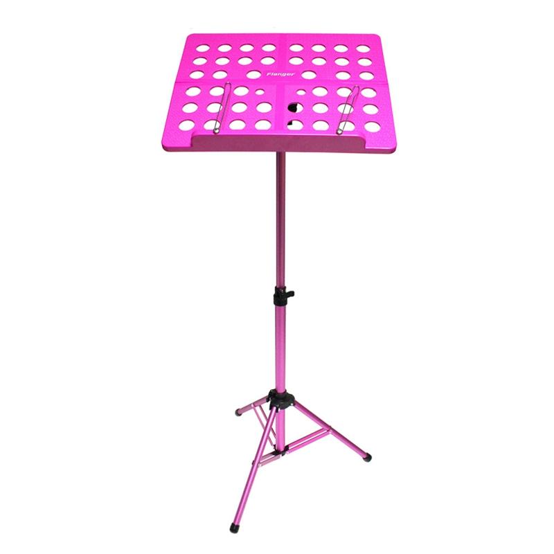 Flanger-Sostenedor-Soporte-Tripode-de-partitura-de-musica-plegable-Aleacion-de-a miniatura 14