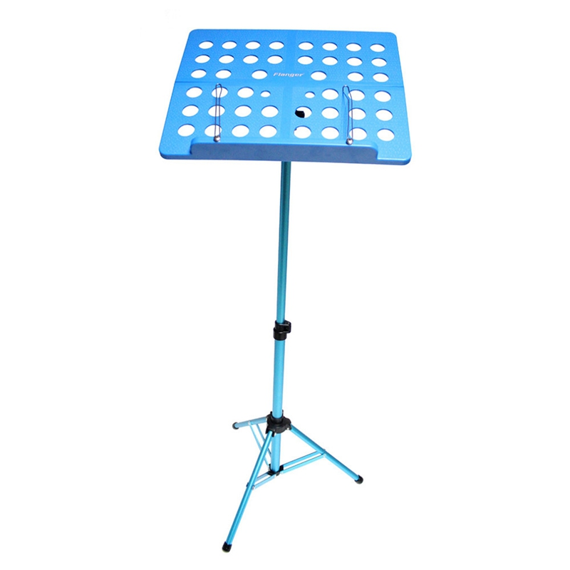Flanger-Sostenedor-Soporte-Tripode-de-partitura-de-musica-plegable-Aleacion-de-a miniatura 18