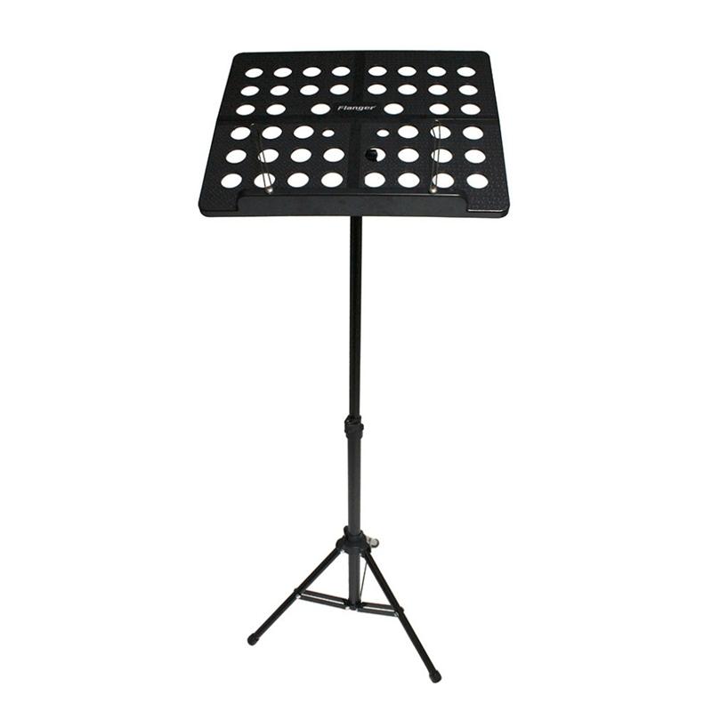 Flanger-Sostenedor-Soporte-Tripode-de-partitura-de-musica-plegable-Aleacion-de-a miniatura 20