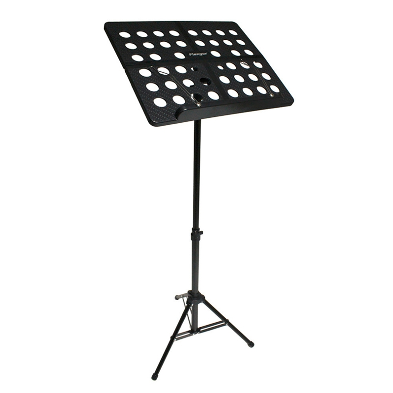 Flanger-Sostenedor-Soporte-Tripode-de-partitura-de-musica-plegable-Aleacion-de-a miniatura 21