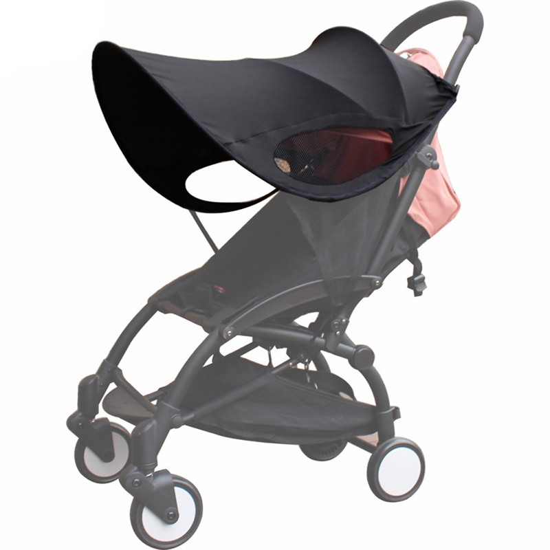 Upgraded version of Baby Stroller Sun Visor Carriage Sun Shade Canopy Cover V5I8
