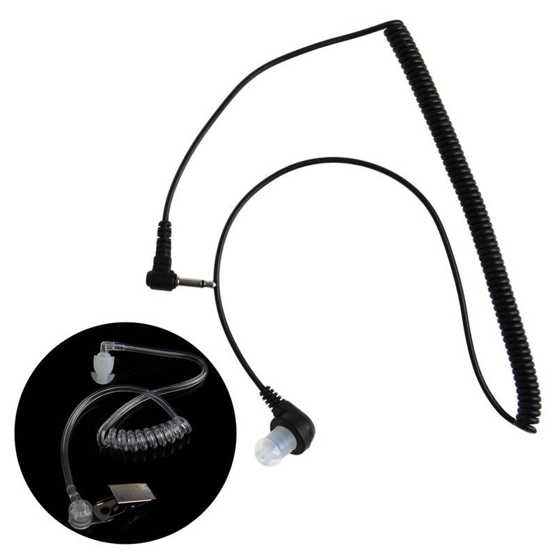 3 5mm Plug Port Listen Only Headset Earpiece Single Earphone Clear