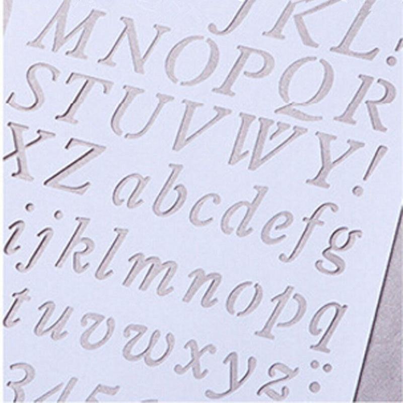 5x Plantillas De Letras Plantillas Letras Y Numeros Patrones Papel