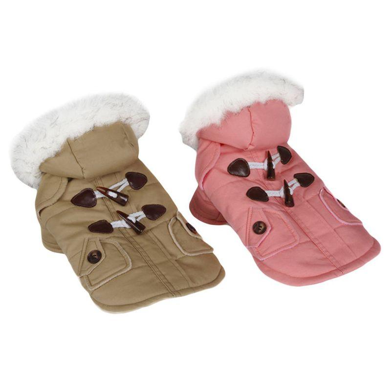 brigo-con-capucha-Mini-chaqueta-de-perro-linda-Traje-de-algodon-Teddy-Inform-PB miniatura 15