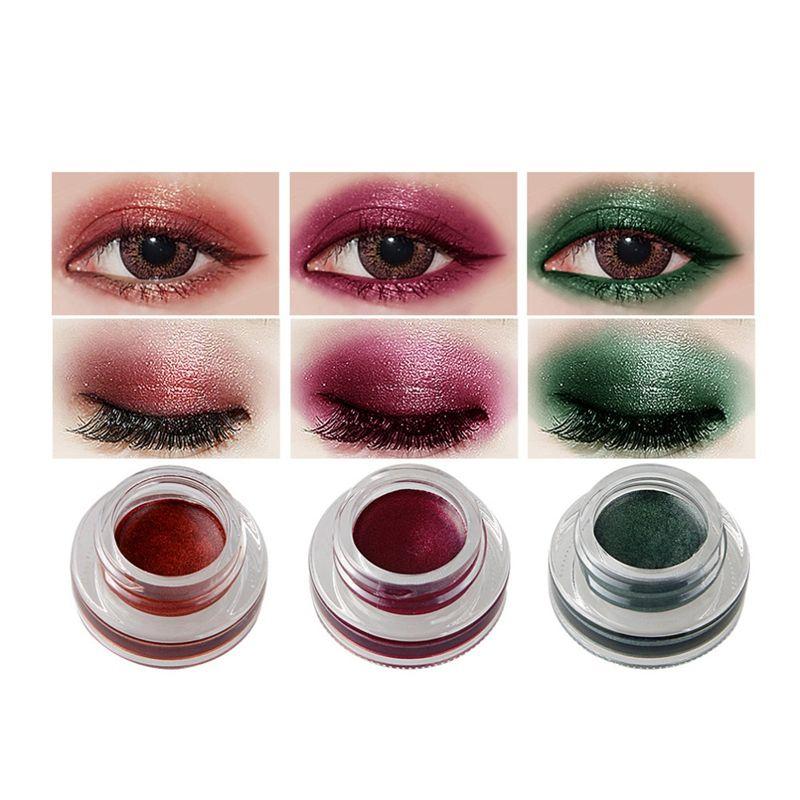 NICEFACE-Creme-de-fard-a-paupieres-Ombre-a-paupieres-de-maquillage-metallique-26 miniature 5