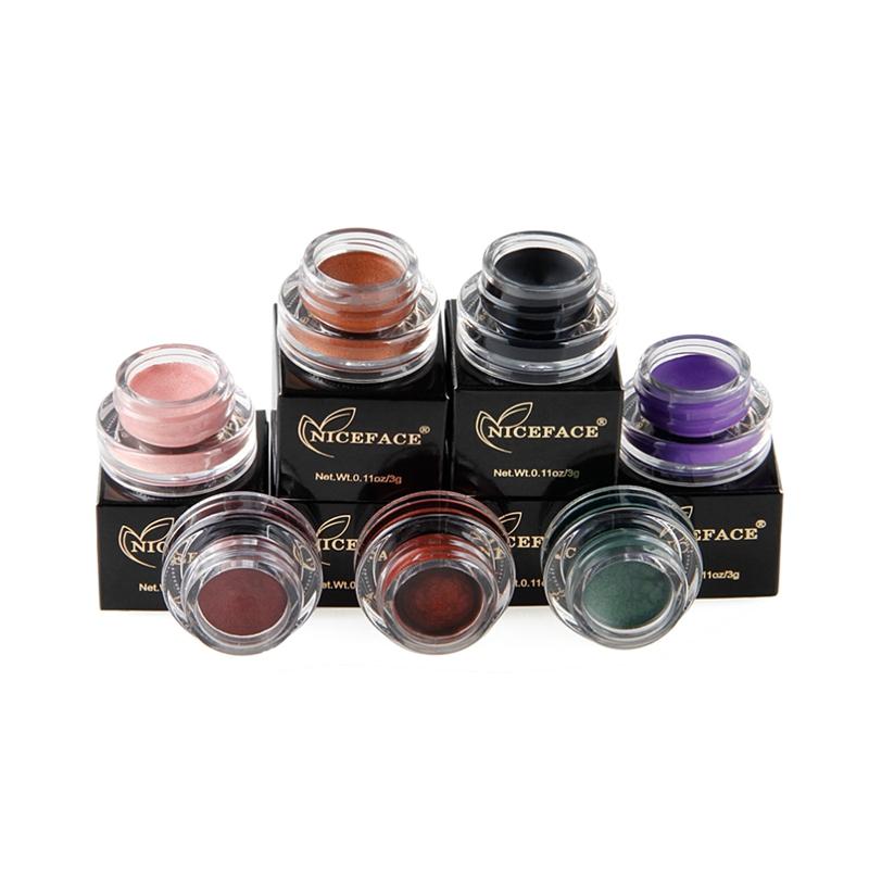 NICEFACE-Creme-de-fard-a-paupieres-Ombre-a-paupieres-de-maquillage-metallique-26 miniature 6