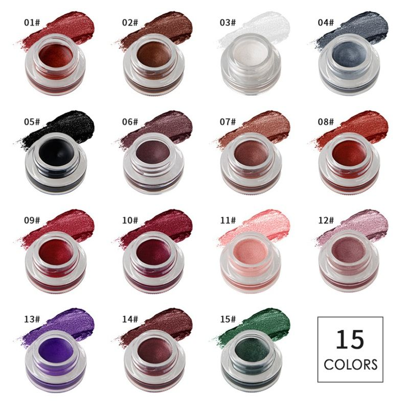NICEFACE-Creme-de-fard-a-paupieres-Ombre-a-paupieres-de-maquillage-metallique-26 miniature 24