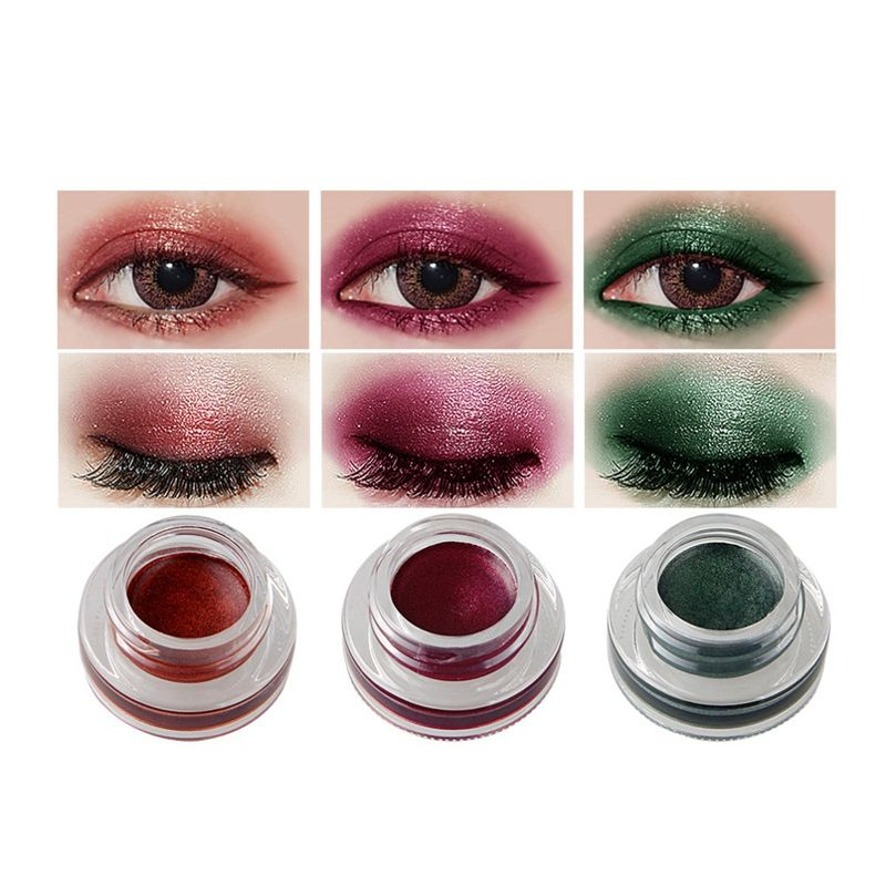 NICEFACE-Creme-de-fard-a-paupieres-Ombre-a-paupieres-de-maquillage-metallique-26 miniature 45