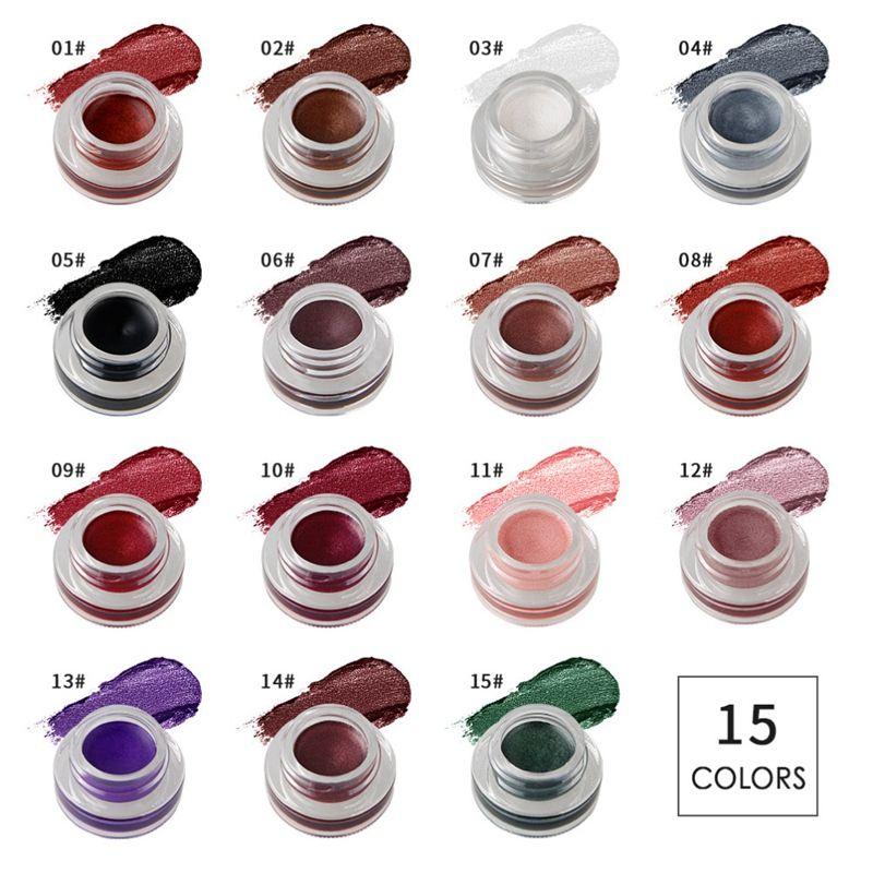 NICEFACE-Creme-de-fard-a-paupieres-Ombre-a-paupieres-de-maquillage-metallique-26 miniature 56