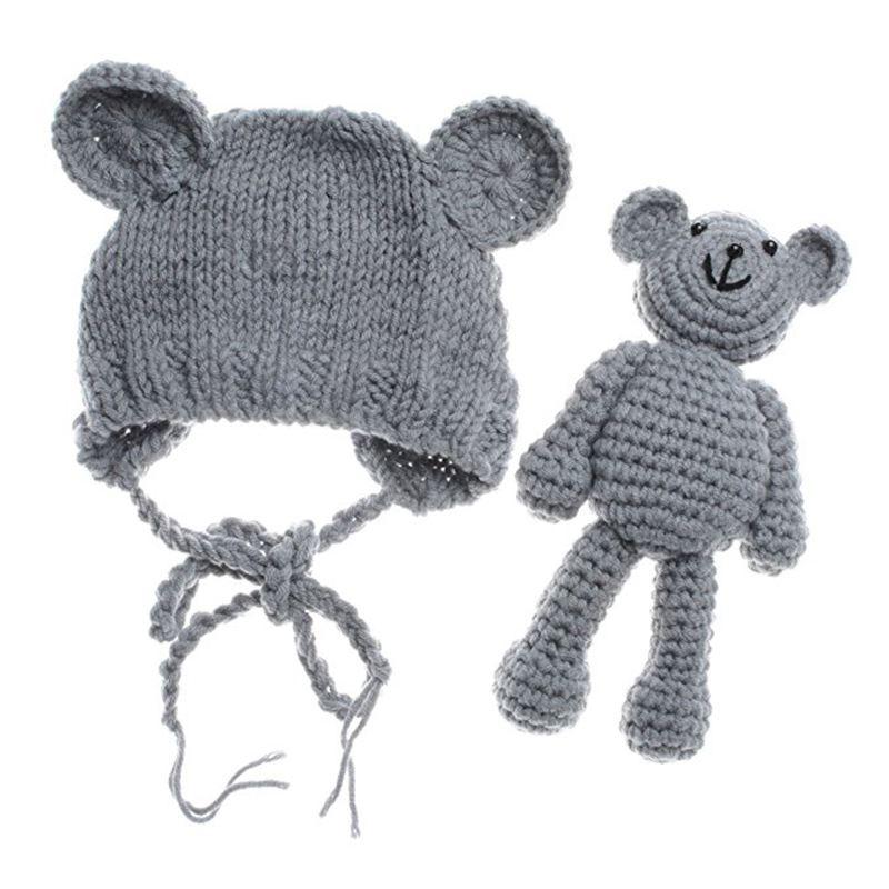 recien nacido bebe oso sombrero gorro con tener munecas accesorios ...