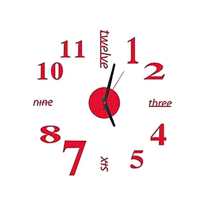 sin marco 3D DIY pared reloj Kit decoracion hogar moderno para sala ...