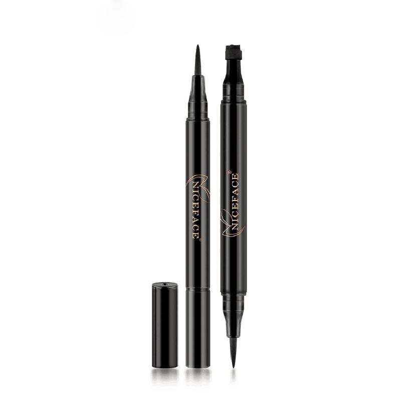 NICEFACE-nuevo-liquido-lapiz-delineador-de-ojos-maquillaje-a-prueba-de-agua-A2X7 miniatura 3