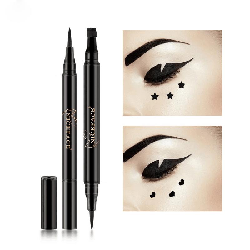 NICEFACE-nuevo-liquido-lapiz-delineador-de-ojos-maquillaje-a-prueba-de-agua-A2X7 miniatura 4