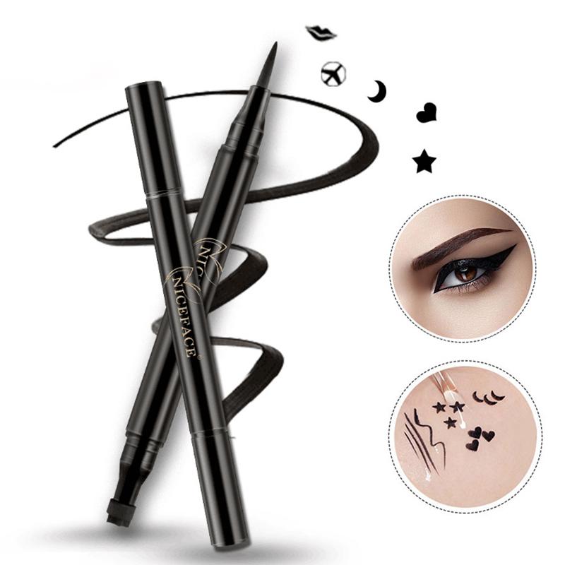 NICEFACE-nuevo-liquido-lapiz-delineador-de-ojos-maquillaje-a-prueba-de-agua-A2X7 miniatura 5