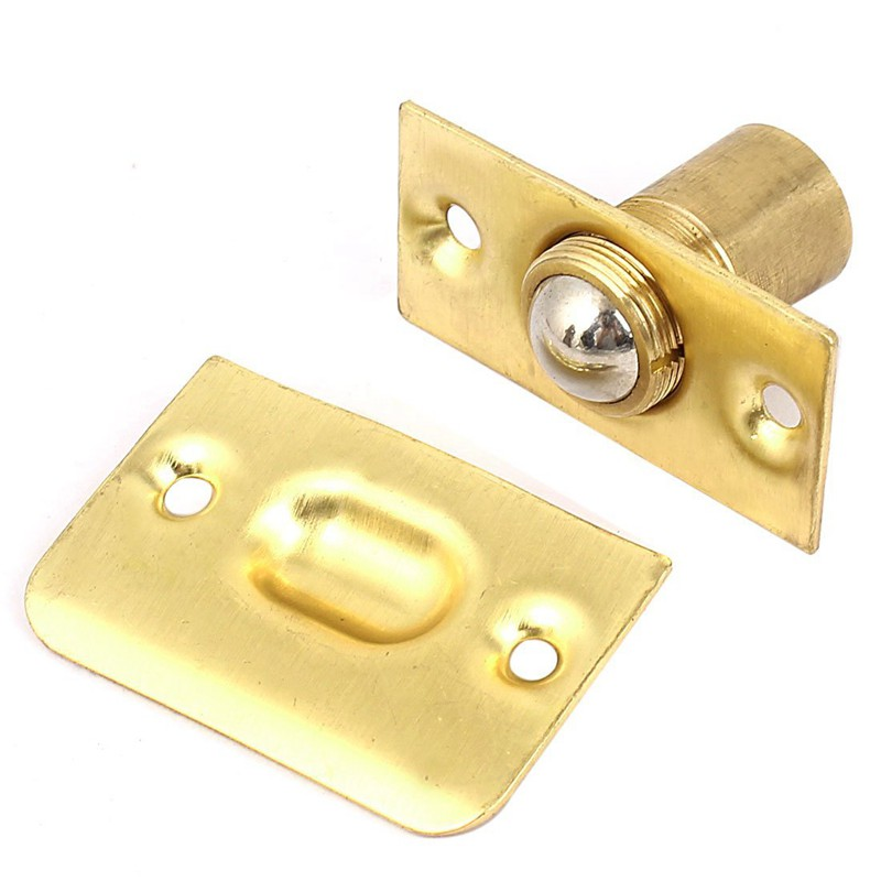 Details About House Closet Door Adjule Spring Roller Copper Ball Catch Set Q7k4
