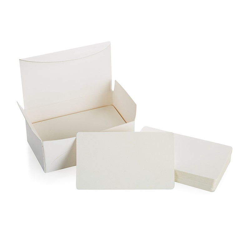 Blank white cardboard paper message card business cards word card blank white cardboard paper message card business cards word card diy tag g a9s2 reheart Images