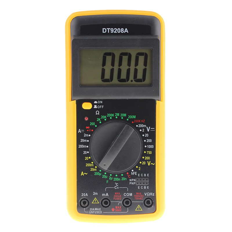 Aneng Dt9208a Portable Digital Multimeter Ac Dc Spannung Strom